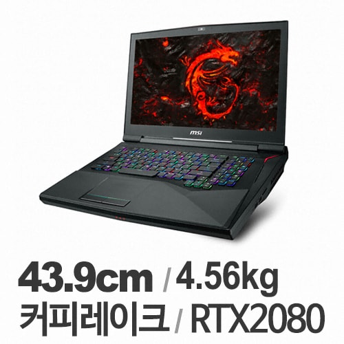 MSI GT시리즈 GT75 Titan 8SG-i9 (SSD 512GB + 1TB)_이미지