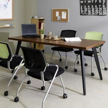 동화속나무  스틸 인더밴 회의용 테이블 1800 (180x80cm)
