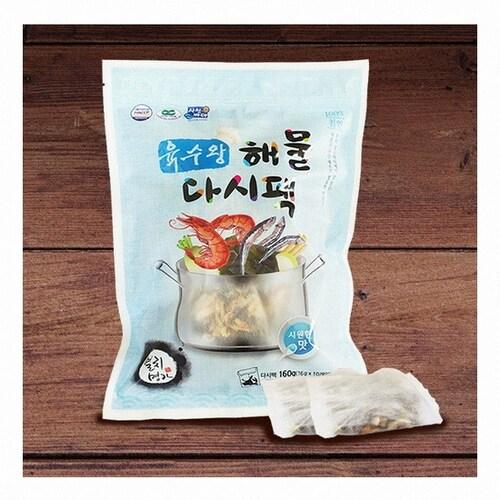원정씨푸드 육수왕 해물다시팩 시원한맛 160g (1개)_이미지