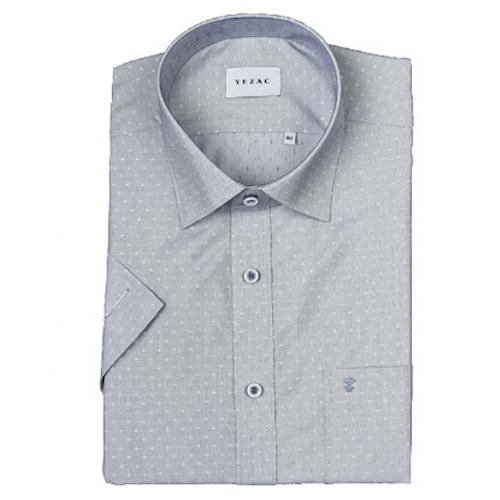 패션그룹형지 예작 모달 도비 일반핏 반소매 셔츠 YJ8MBR209NY_이미지