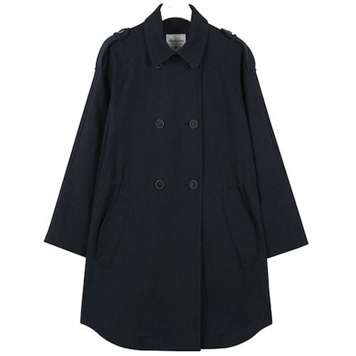 지엔코 써스데이아일랜드 여성 밑단 변형 더블 트렌치 코트 T1172MCT132W_이미지