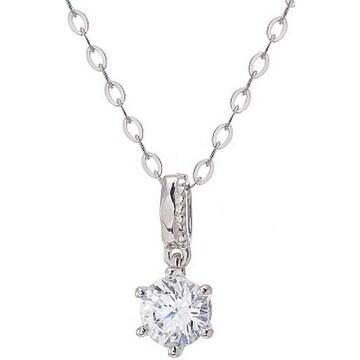 몰리즈 18K 오에리 5부 다이아몬드 목걸이