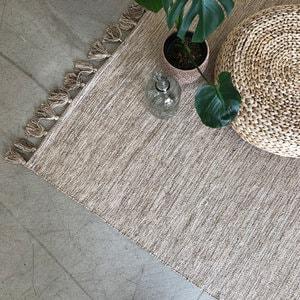 인디아 라탄룩 거실 면러그(160x230cm)