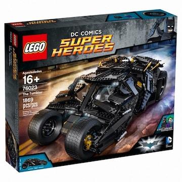 레고 DC 슈퍼히어로 배트맨 텀블러 (76023) (정품)_이미지