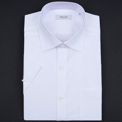 에스제이듀코 브로이어블루 반소매 도비 조직 일반 셔츠 ED7MM31HS101EWH_이미지