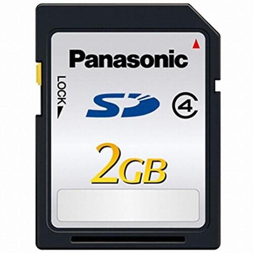 파나소닉 SDHC CLASS4 (해외구매,2GB)_이미지