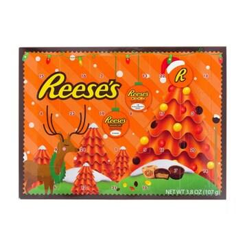 허쉬 리세스 러버 초콜릿 크리스마스 2020 어드벤트 캘린더 107g (해외) (1개)_이미지