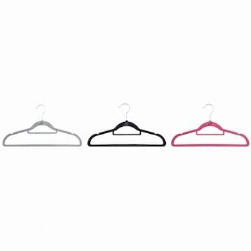 MF매직하우스 MF 벨벳 논슬립 옷걸이 표준형(50개)