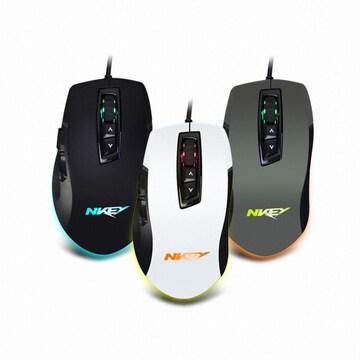 스카이디지탈 NKEY G512 스파크 게이밍 마우스(카키)