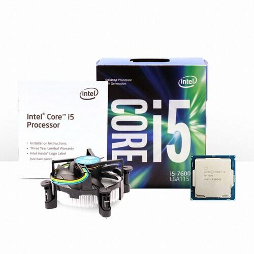 인텔 코어i5-7세대 7600 (카비레이크) (정품)_이미지