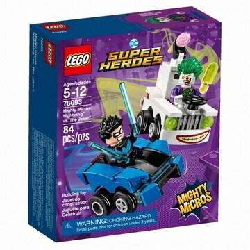 레고 DC 슈퍼히어로 나이트윙 대 조커 (76093) (정품)