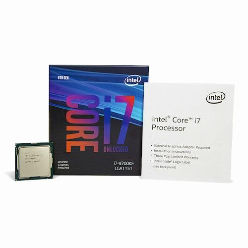 인텔 코어i7-9세대 9700KF (커피레이크-R)(정품)