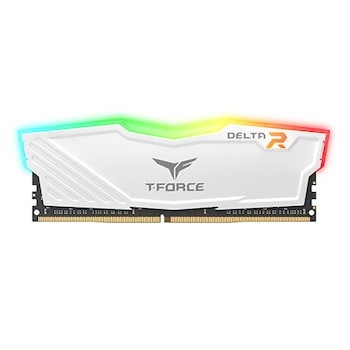 TeamGroup T-Force DDR4-3200 CL16 Delta RGB 화이트 (32GB)