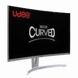 제이씨현 UDEA EDGE 27CH2 유케어 화이트 커브드 HDMI 무결점_이미지