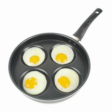 엠에스네트웍스코리아 요리즐 에그팬케이크 4구 프라이팬 (24cm)