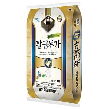 홍천철원물류센터  황금미가 20kg (19년 햅쌀) (1개)