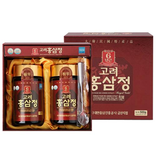 대한홍삼진흥공사 고려 홍삼정 로얄골드 250g(2개)