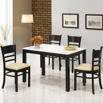 베스트리빙  리빙 하이그로시 식탁세트 1150 (의자4개)