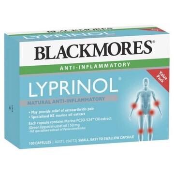블랙모어스 리프리놀 초록홍합 100캡슐(1개)