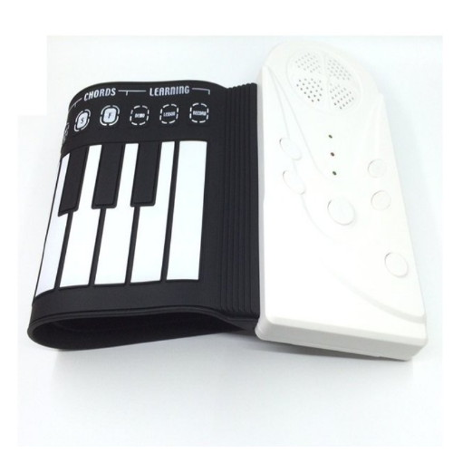 휴대용 디지털 피아노 전자 건반 포더블 롤업 ebc40