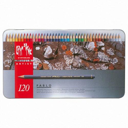 까렌다쉬 파블로 유성색연필 (120색)
