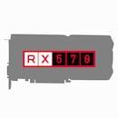 라데온 RX 570 D5 8GB (중고)