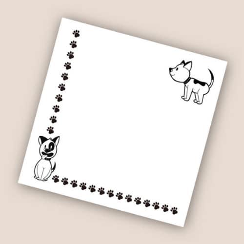 은성 006 강아지 디자인 캐릭터 떡메모지_이미지