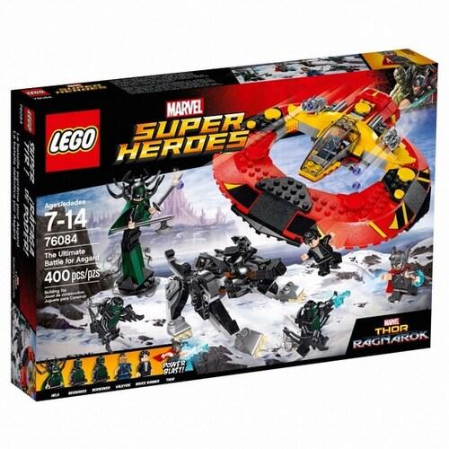 레고 마블 슈퍼히어로 아스가르드를 위한 전투 (76084)