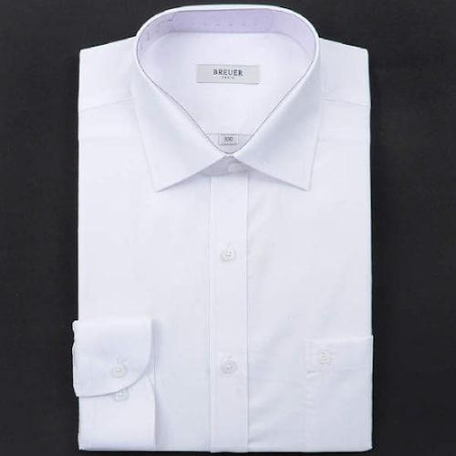 에스제이듀코 브로이어블루 다이아 도비원단 일반 긴소매 셔츠 ED7SM32LS704EWH_이미지