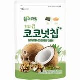 광천김 헬스타임 리얼 김 코코넛칩 100g  (4개)