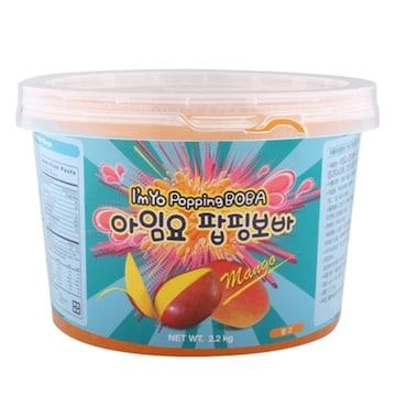 아임요  팝핑보바 망고 2.2kg (1개)