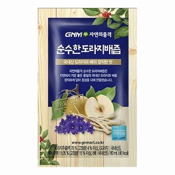 지엔엠라이프 GNM자연의품격 순수한 도라지배즙 80ml 30포(2개)
