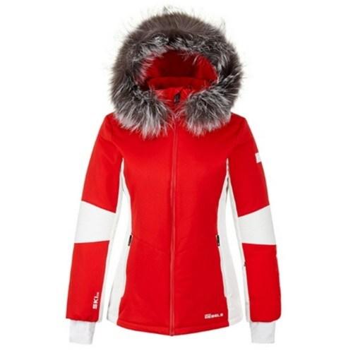 헤드  17/18 여성 레블스 라인 스키 자켓 레드 JOQBW17701REX_이미지