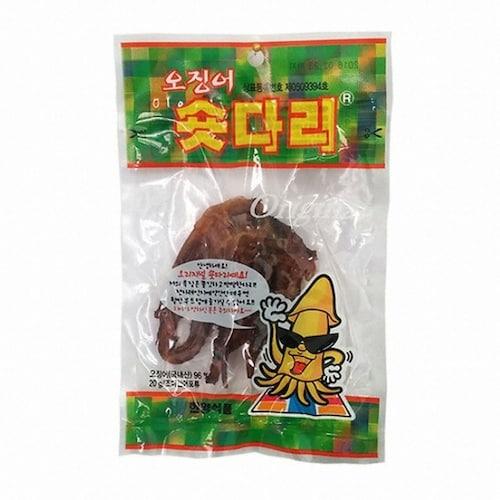 한양식품 오징어 숏다리 20g (10개)