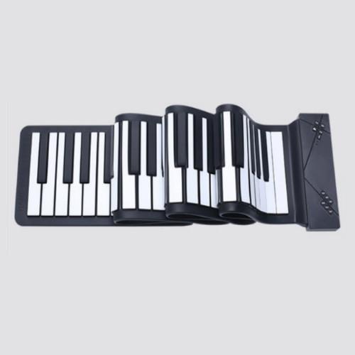 휴대용 디지털 피아노 전자 건반 포더블 롤업 ebc41