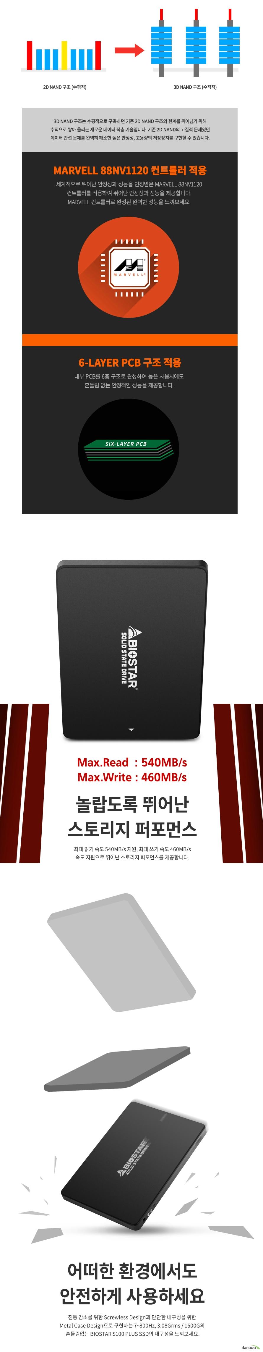 BIOSTAR  S100 PLUS(480GB)