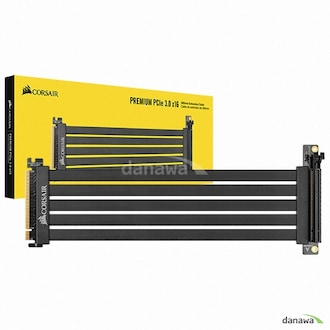 CORSAIR Premium PCIe 3.0 x16 Extension Cable 300mm_이미지