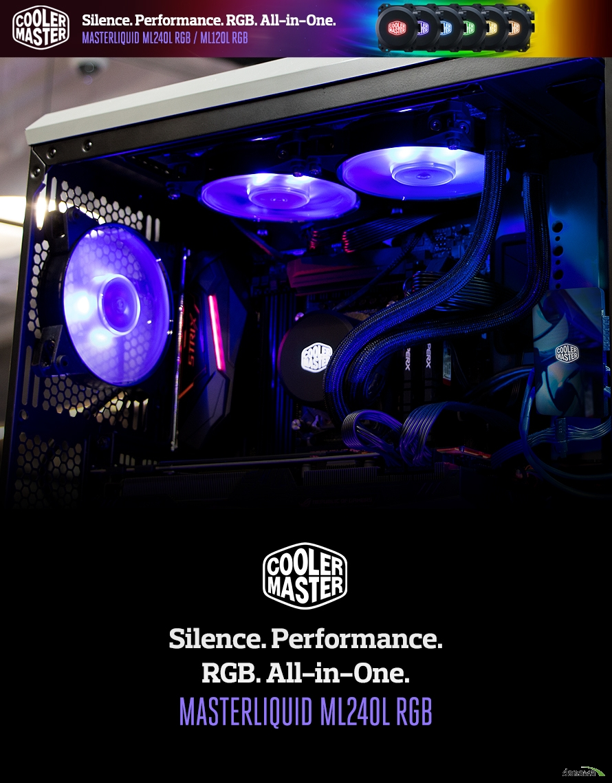 Silence. Performance. RGB. All-in-One.