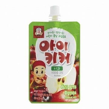 한국인삼공사 정관장 아이키커 사과맛 100ml 10포 (1개)