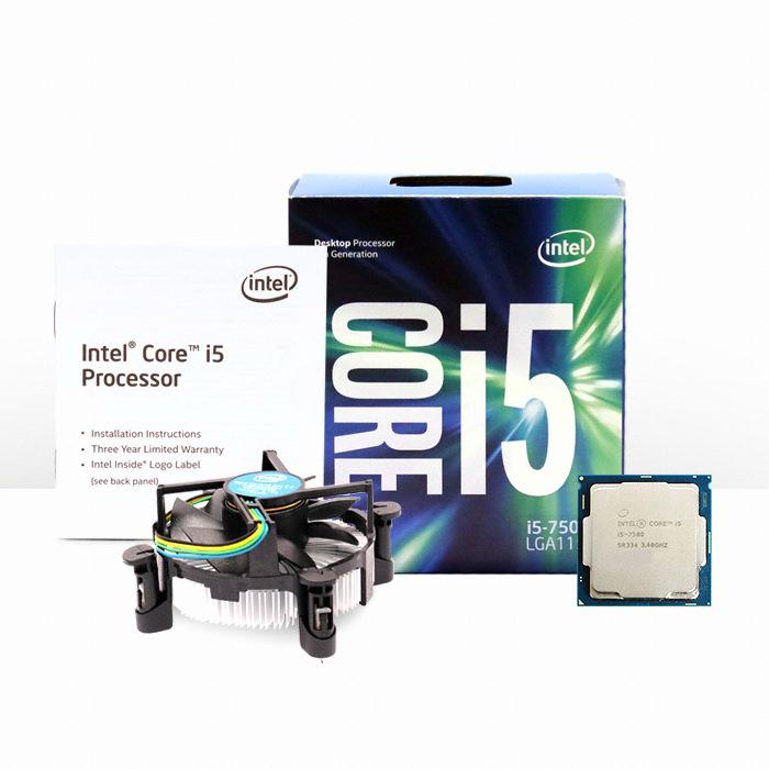 인텔 코어i5-7세대 7600 (카비레이크) (정품)