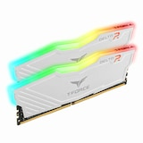 TeamGroup T-Force DDR4 32G PC4-24000 CL16 Delta RGB 화이트 (16Gx2) 서린
