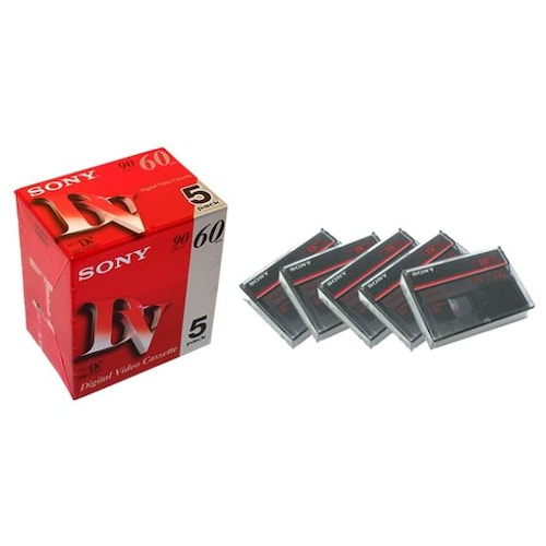 SONY MiniDV 6mm 5DVM60R3 60분 DV테이프 (10개)_이미지