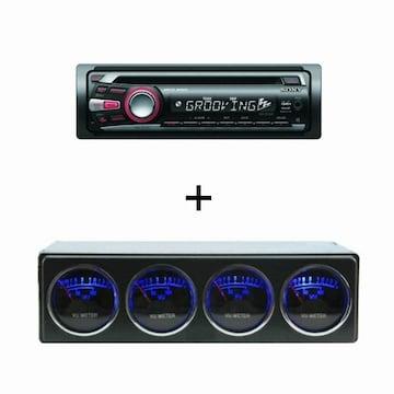SONY CDX-GT280S (단품, 레벨미터)_이미지