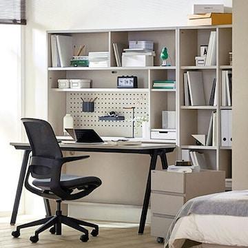 일룸 로이모노 5단 책상세트(116x60cm)