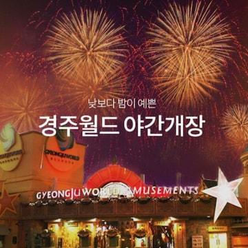 경주월드리조트 경주월드 야간 자유이용권 (경북)(대인)