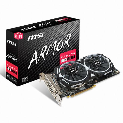 MSI 라데온 RX 580 아머 OC D5 8GB