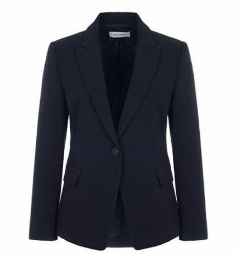 쉬즈미스 여성 피크드 라펠 원버튼 재킷 SWSJKJ31010_이미지