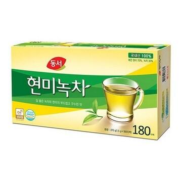 동서식품  동서 현미녹차 180T (1개)