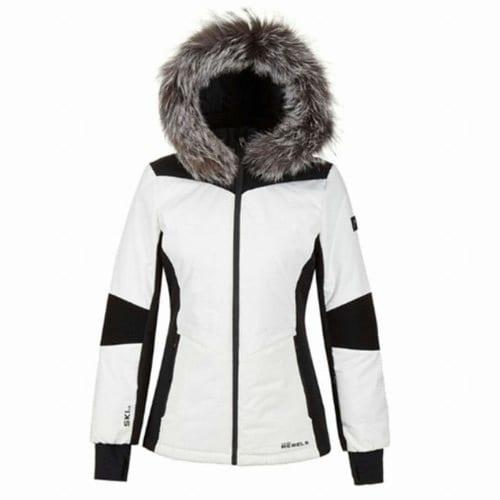 헤드  17/18 여성 레블스 라인 스키 자켓 화이트 JOQBW17701WHX_이미지