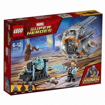레고  마블 슈퍼히어로 어벤져스 토르의 무기 퀘스트 (76102) (정품)